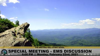 Special town council meeting on EMS