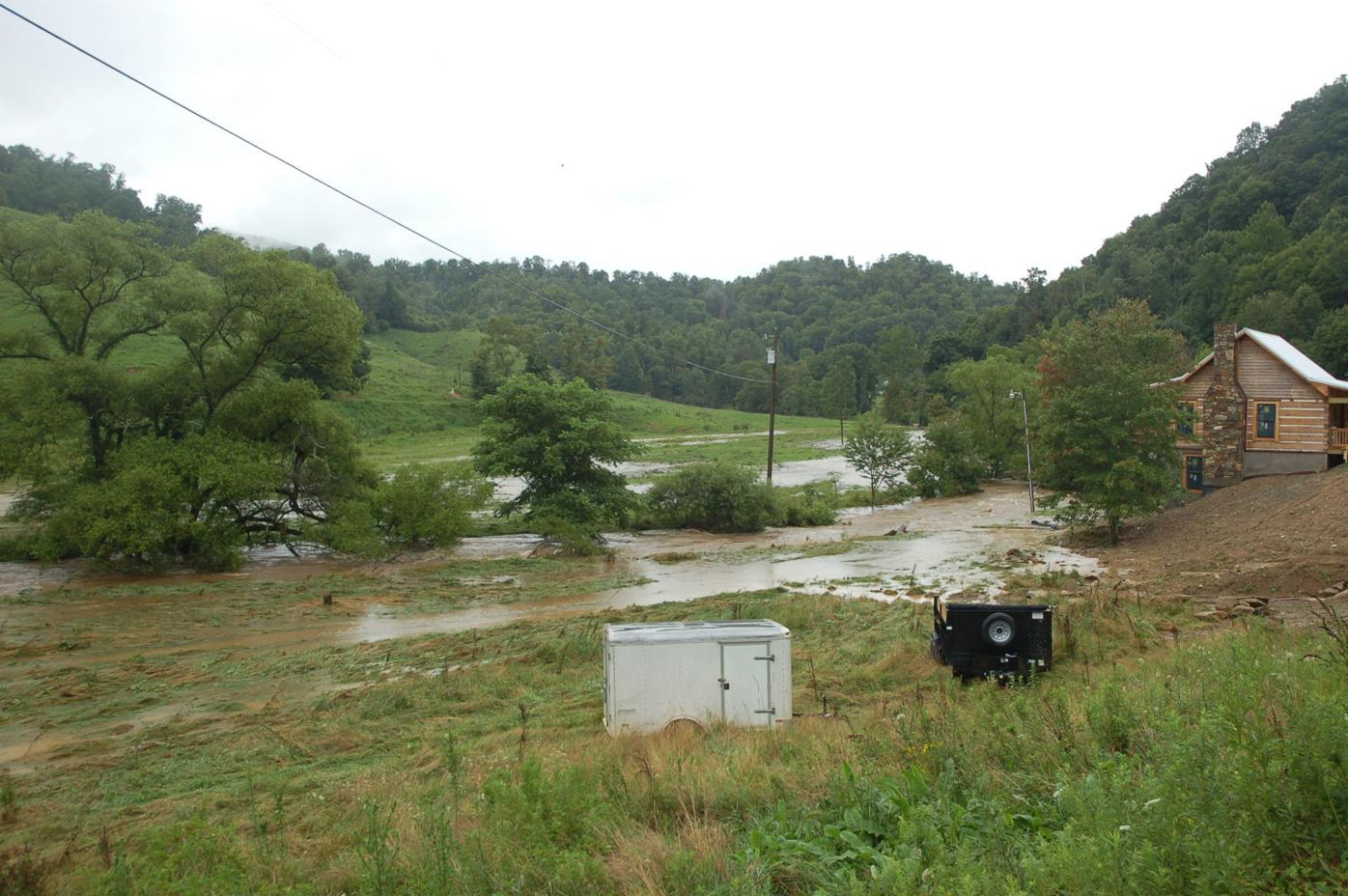 Flooding in Mast