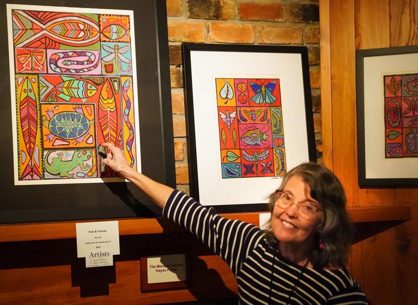 Linda Elksnin - symbols and shapes
