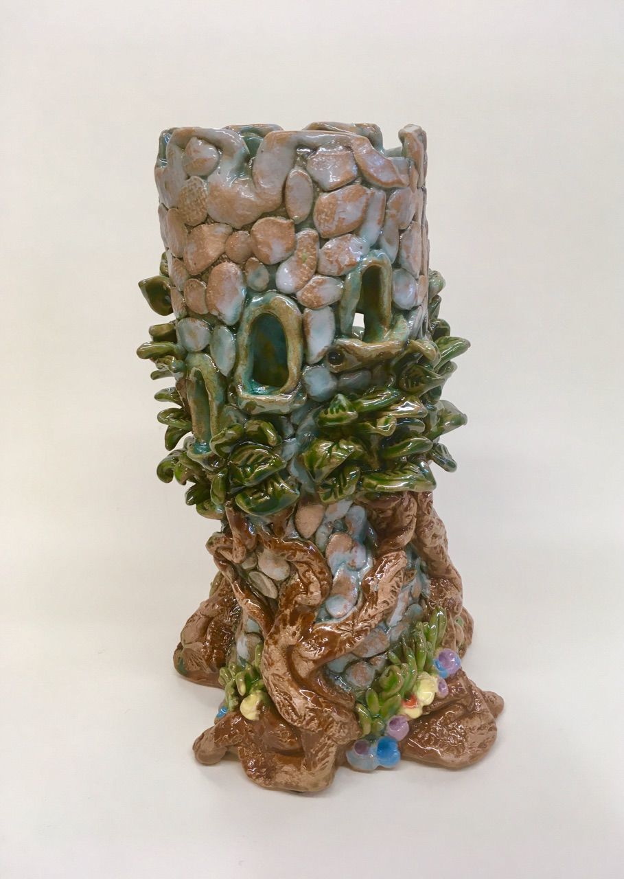 Cindys Tree house vase