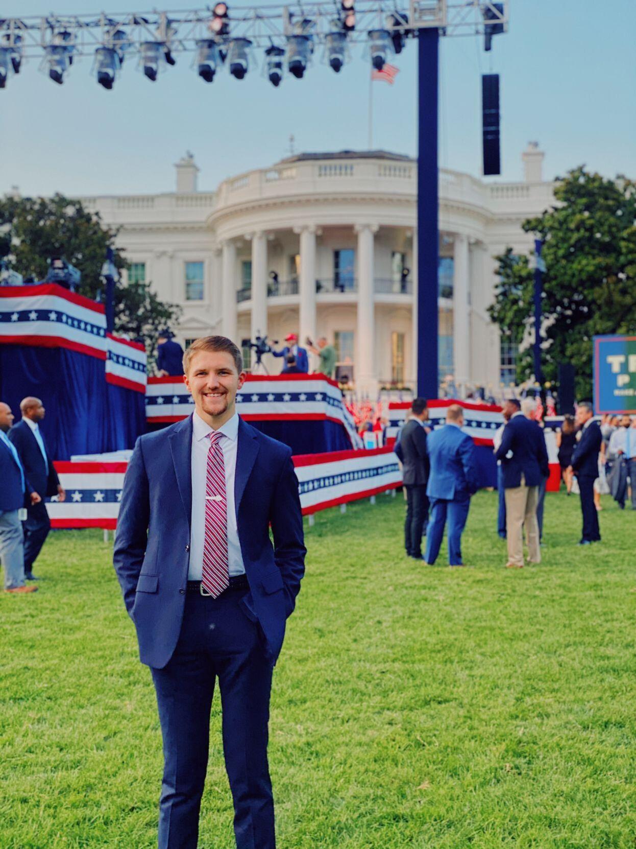 Dawson Buchanan at White House