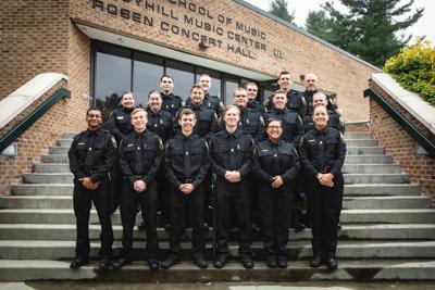 Police Academy grads