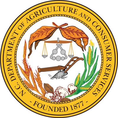 NC Department of Agriculture Seal