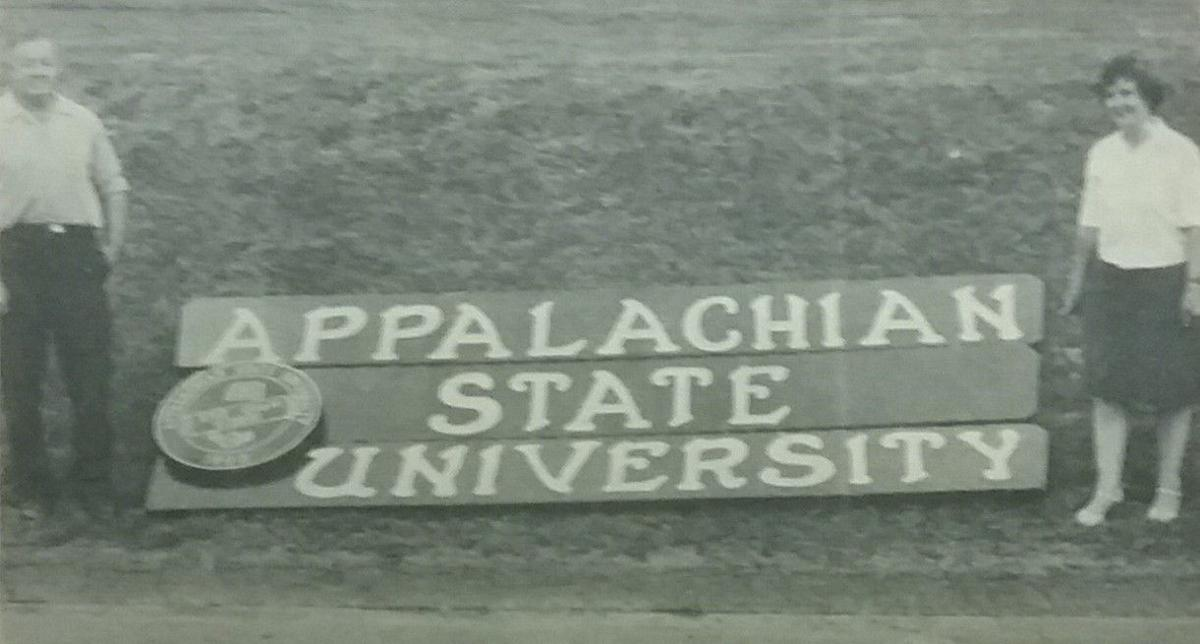 New ASU sign in 1968