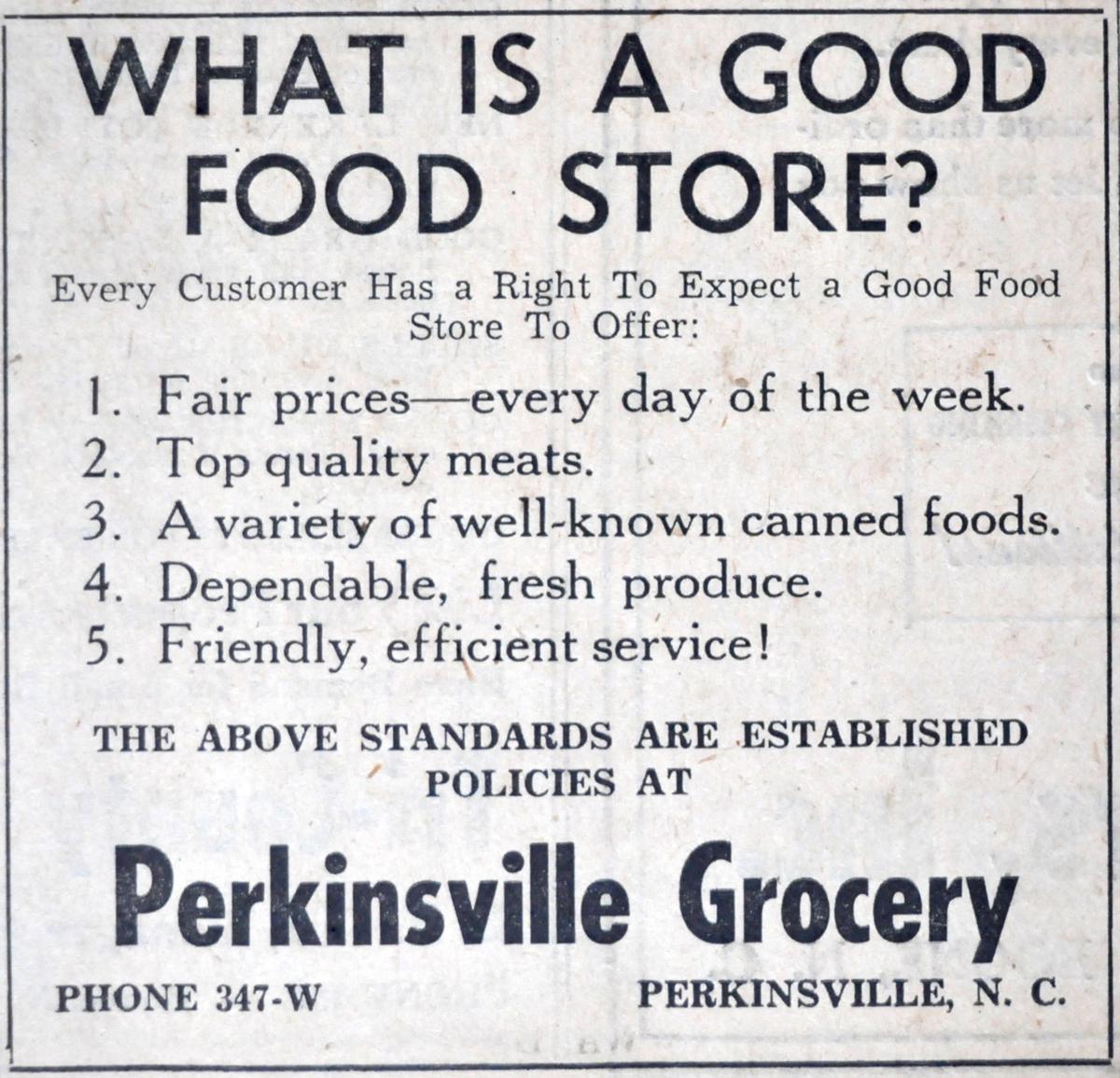 Perkinsville Grocery