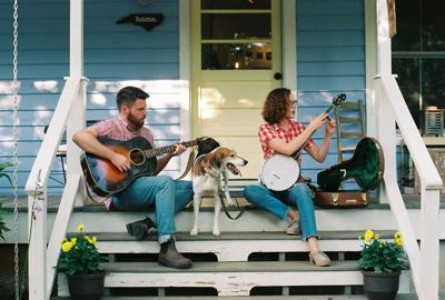 North Carolina duo, Chatham Rabbits, will perform in the Gallery of the Ashe Arts Center on Aug. 17.