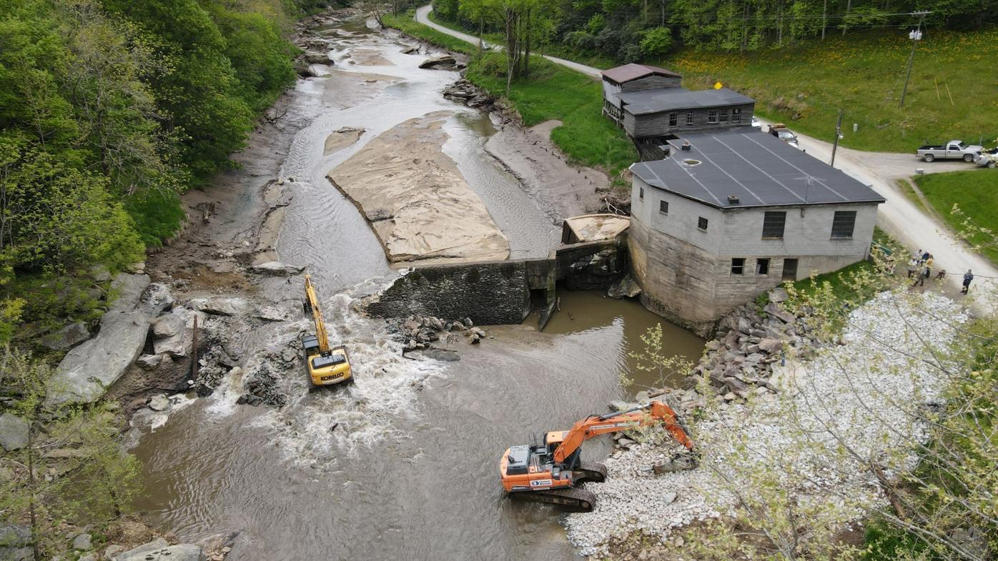 Ward Mill dam