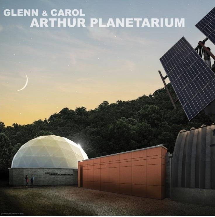 Glenn and Carol Arthur Planetarium