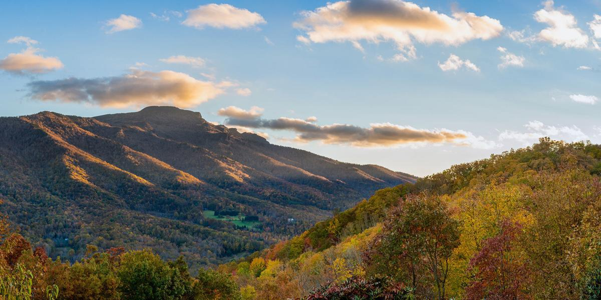 The colors of fall from Grandfather Mountain