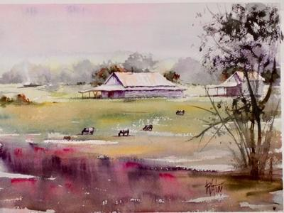 'Valley Landscapes' by Roger Tatum