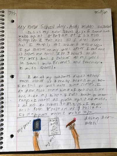 Easton Short, Avery Middle School, Ms. Allen, 7th Grade