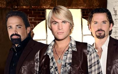 The Texas Tenors perform onstage at The Walker Center at Wilkes Community College on Sept. 12.