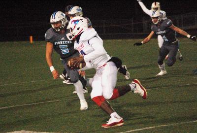 Chasing down the quarterback