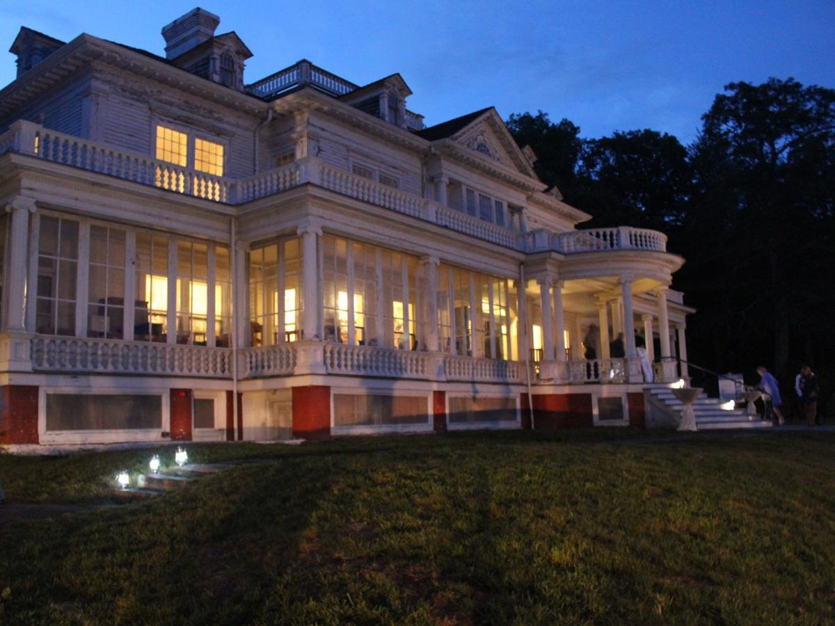 On the evening of the Denim Ball, Flat Top Manor glowed from the inside for the first time since renovations began.