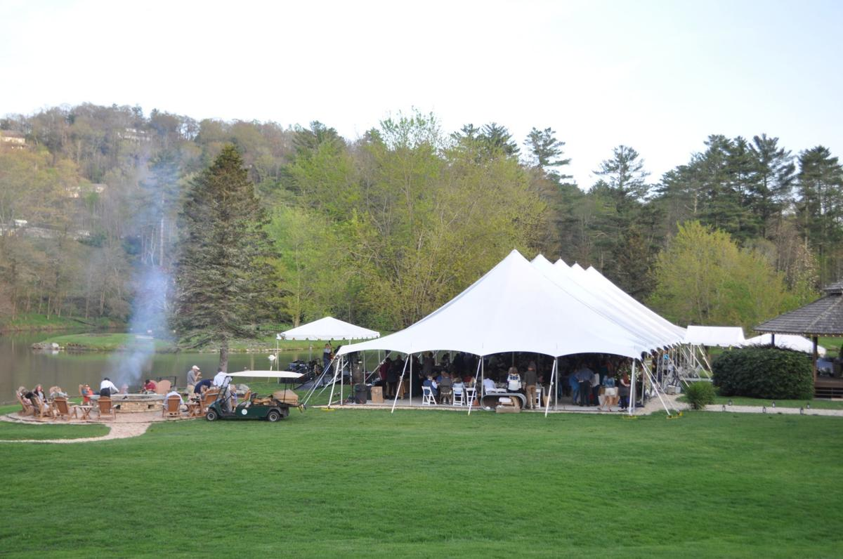 Chetola lakeside tent