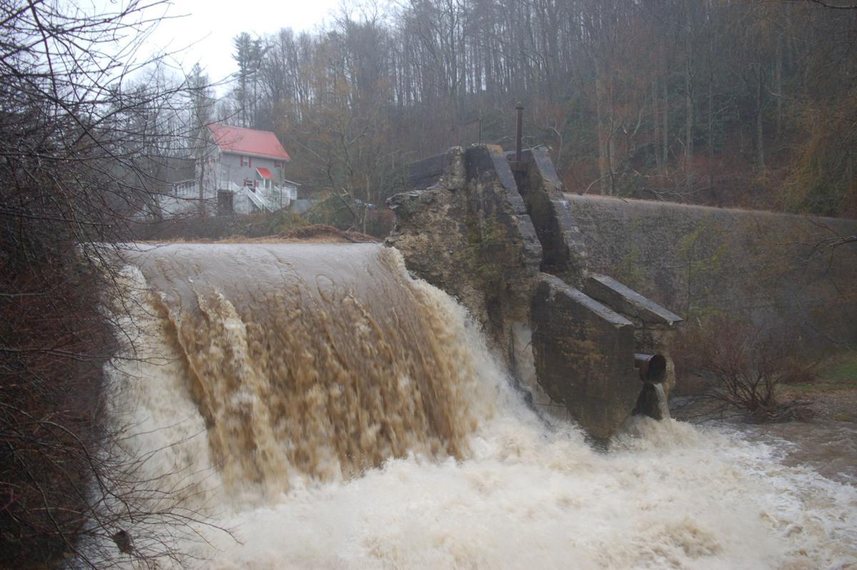 Payne Branch Dam
