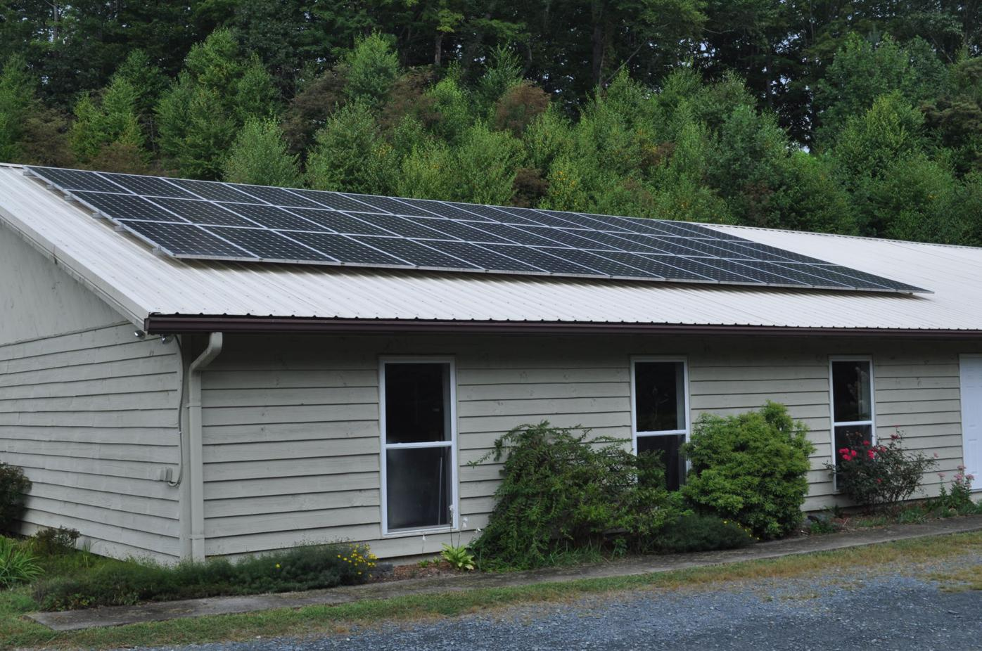 High Country UCC solar panels