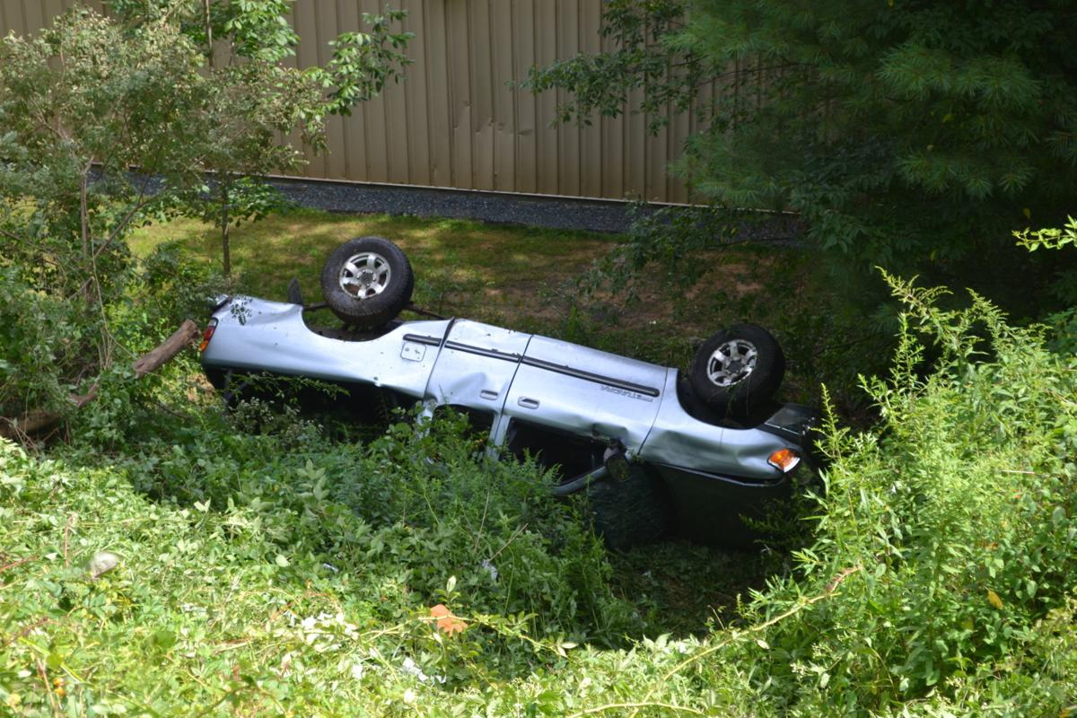 Truck Rolls Down Nc 105 Bypass Embankment To Avoid Collision News