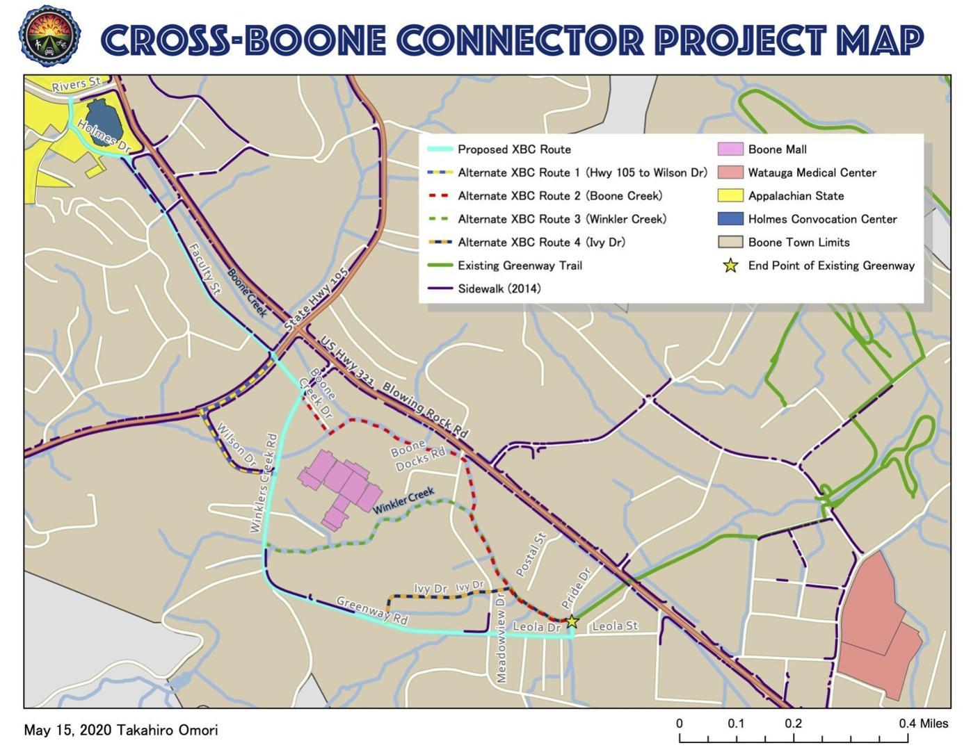 Cross Boone Connector