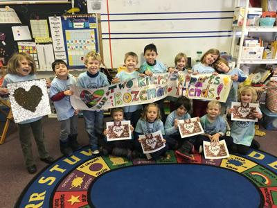 two rivers class donates to florida school after hurricane michael