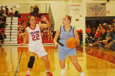 Pioneers fall to Freedom