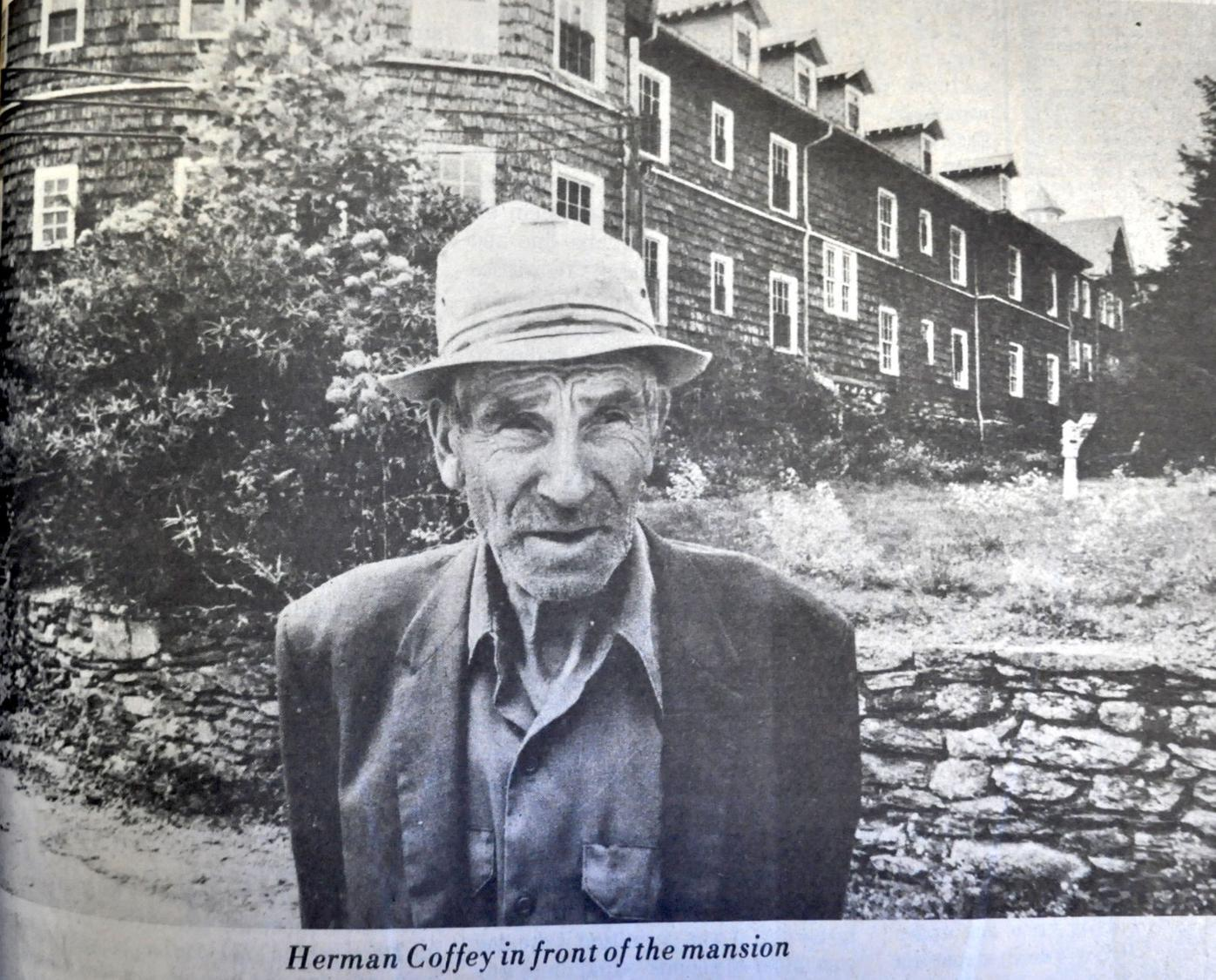 Herman Coffey, caretaker of Mayview Manor