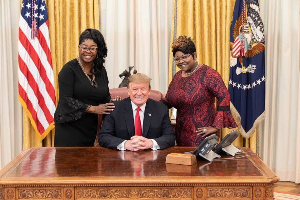 Diamond, Trump and Silk