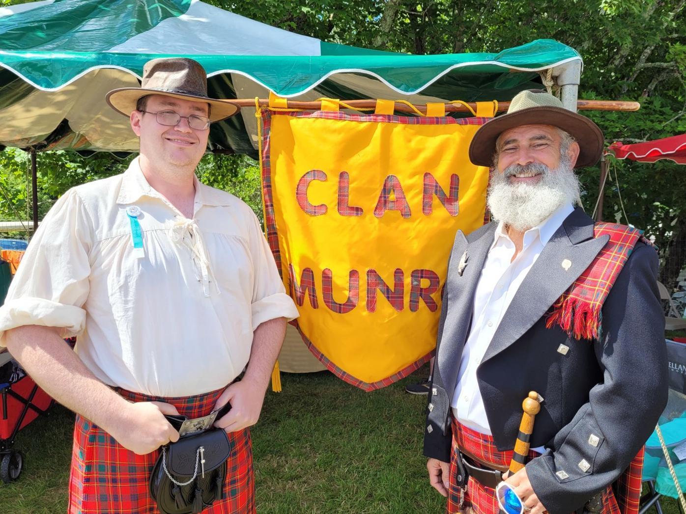 Clan Munro tent