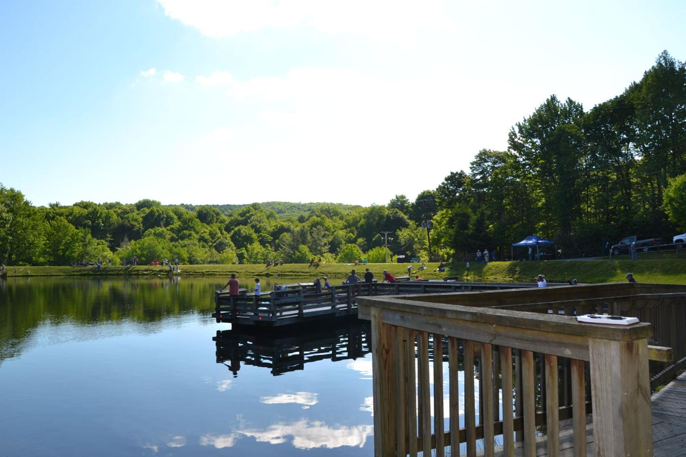 Lake Coffey dock