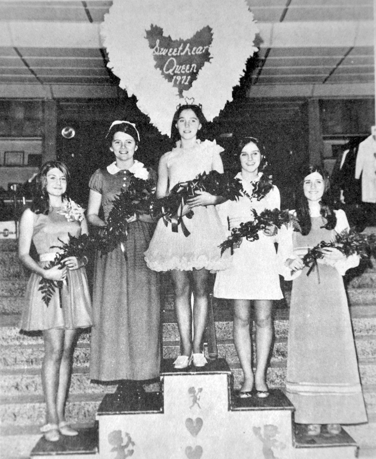 1971 WHS Sweetheart Court