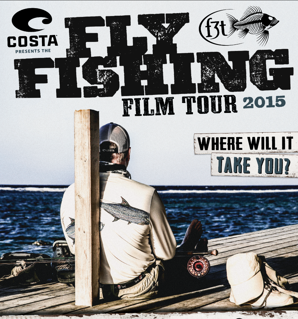 Fly fishing film tour at schaefer center friday mountain for Fly fishing films