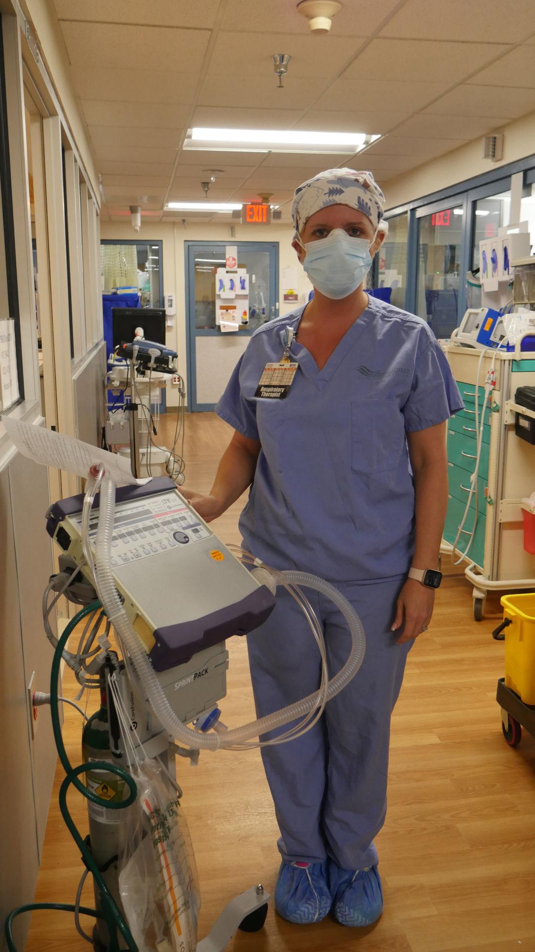 MichelleBaldwin_RespiratoryTherapist_with_ventilator_portrait.JPG