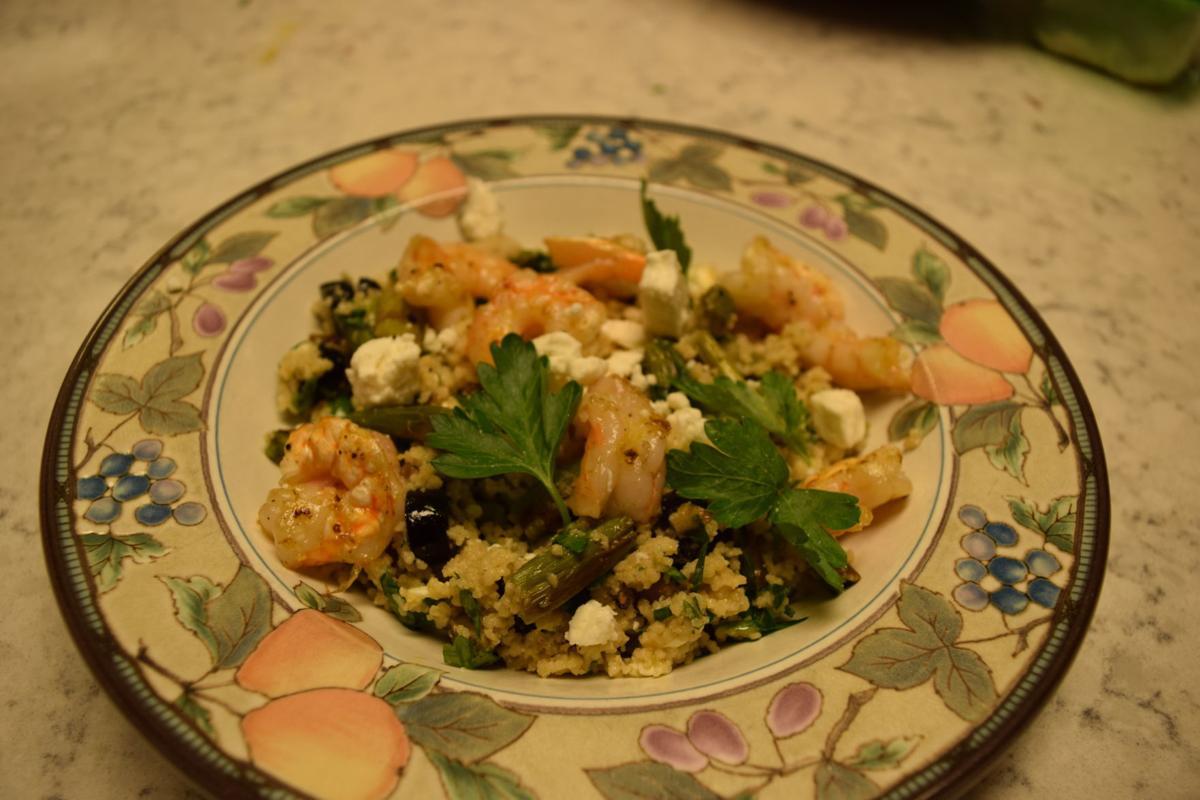 shrimp asparagus