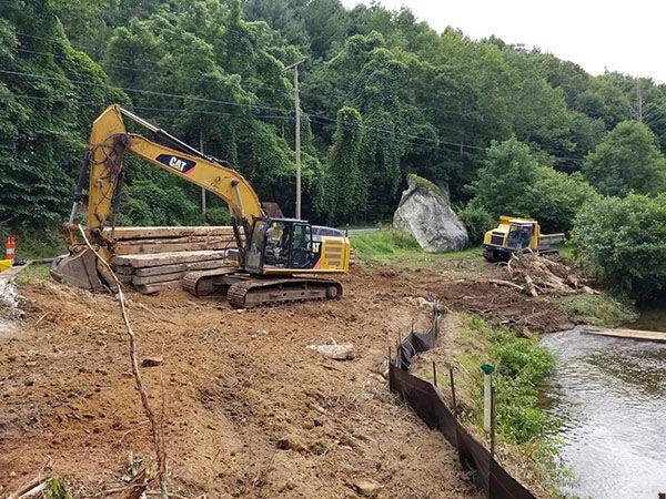 New River Dam