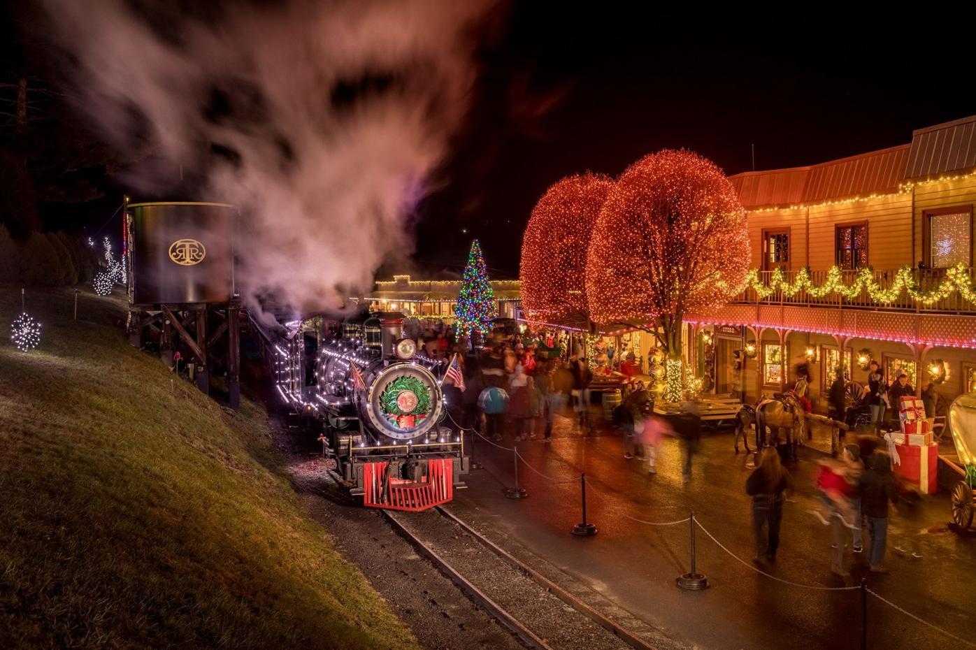 Festive Main Street