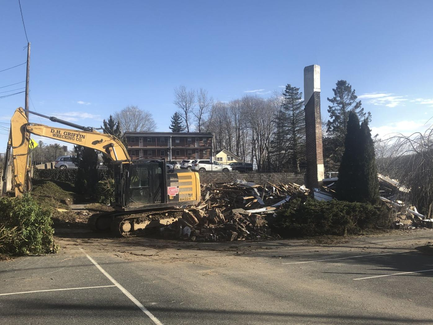 Turn House demolition