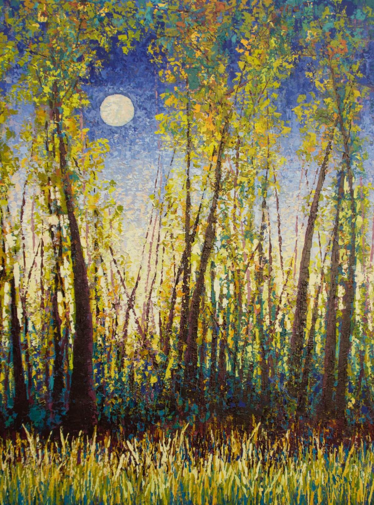 Karin Neuvirth Sunset Moon