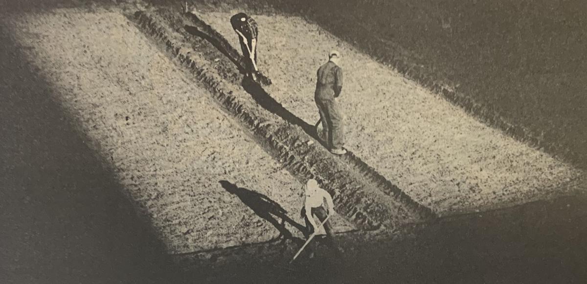 1985 - plowing