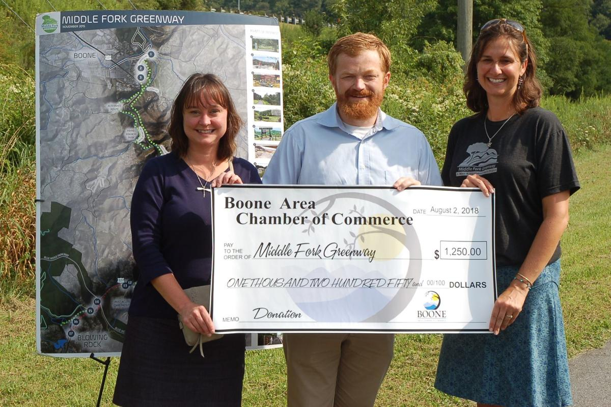 Boone Chamber and the Middle Fork Greenway