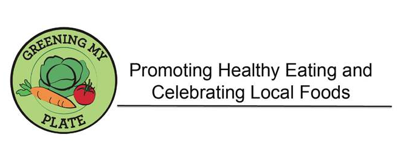 Greening My Plate month logo