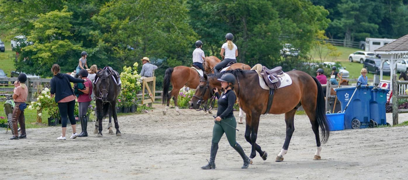 Busy, busy, busy at horse show grounds