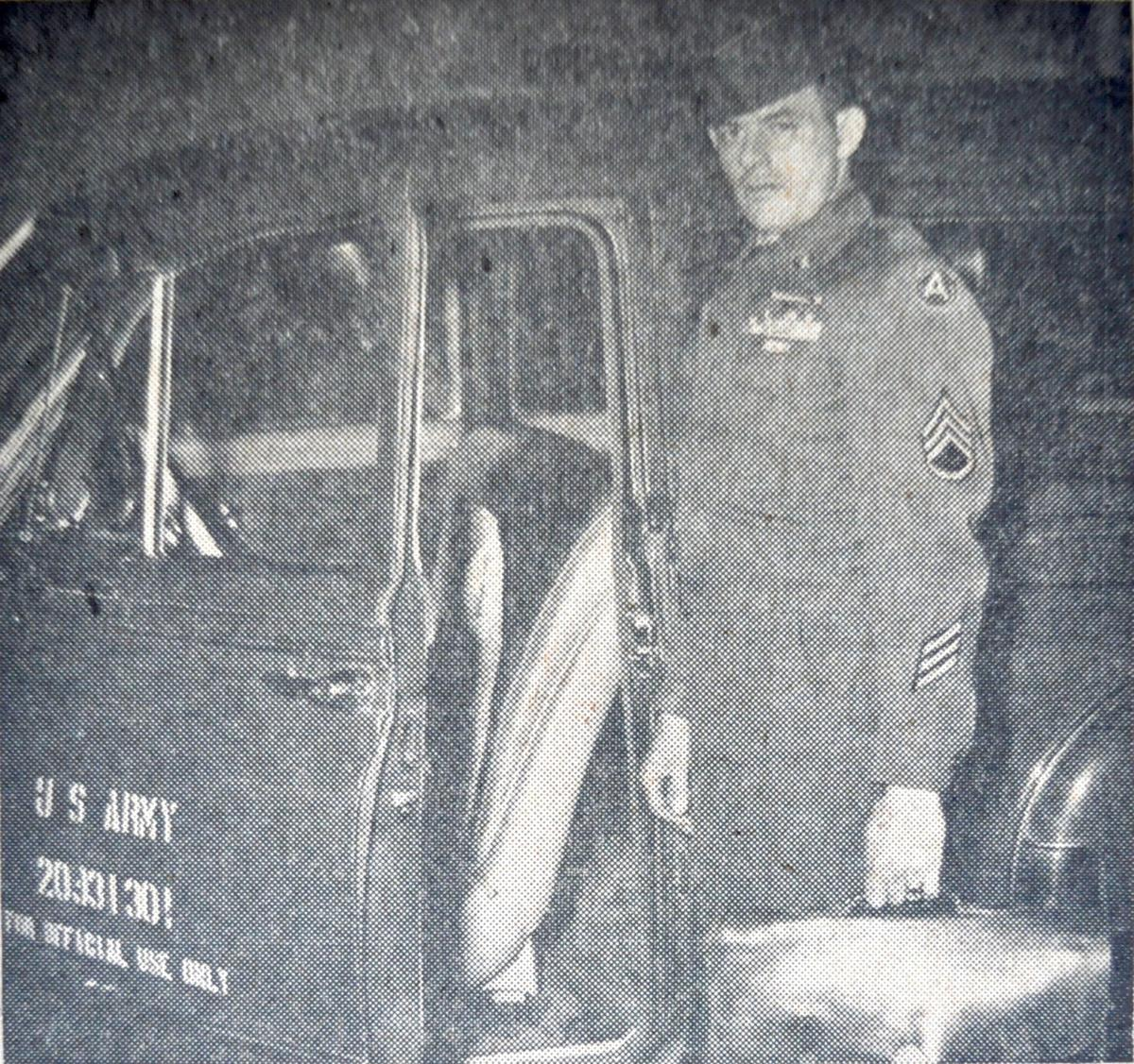 Sgt. Willie Younce, Army mailman, WWII and Korean War veteran