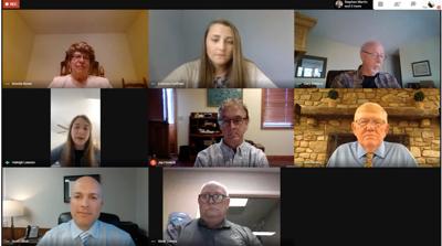 Board of Education virtual meeting