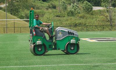 Working on the field