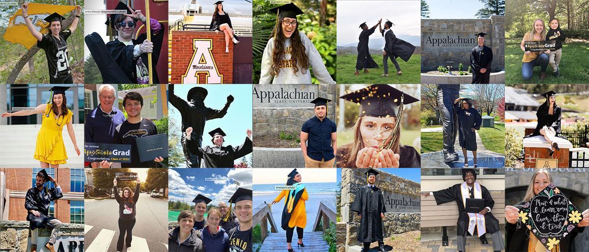 App State virtual graduation