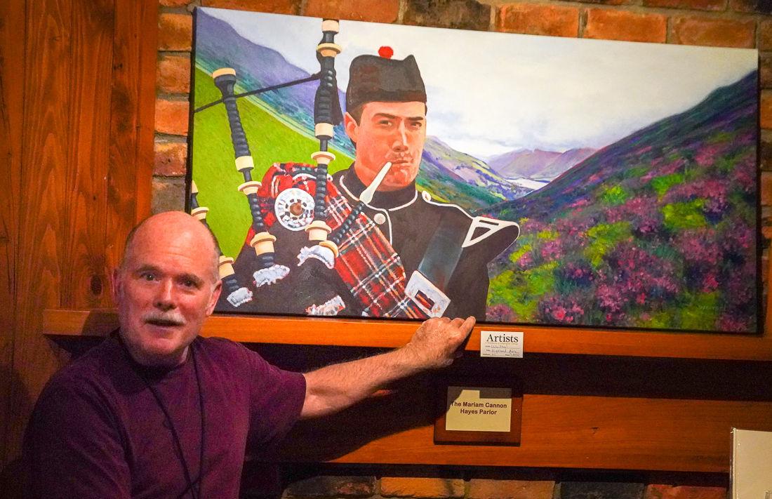 Waitsel Smith painting