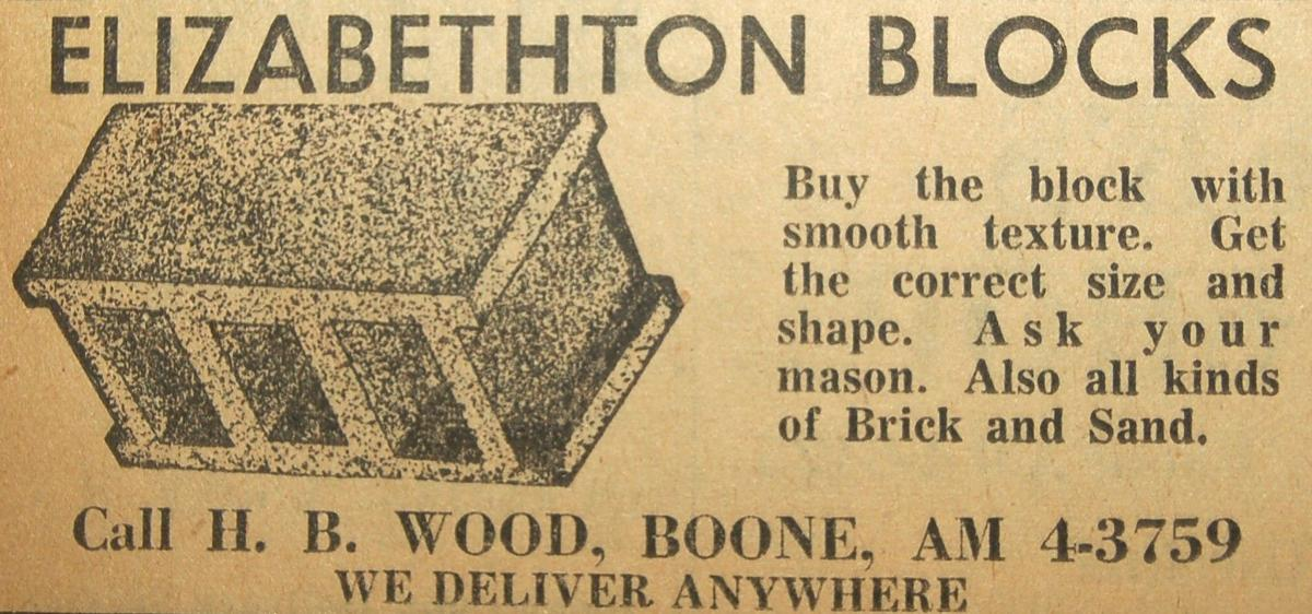 Elzabethton Blocks ad