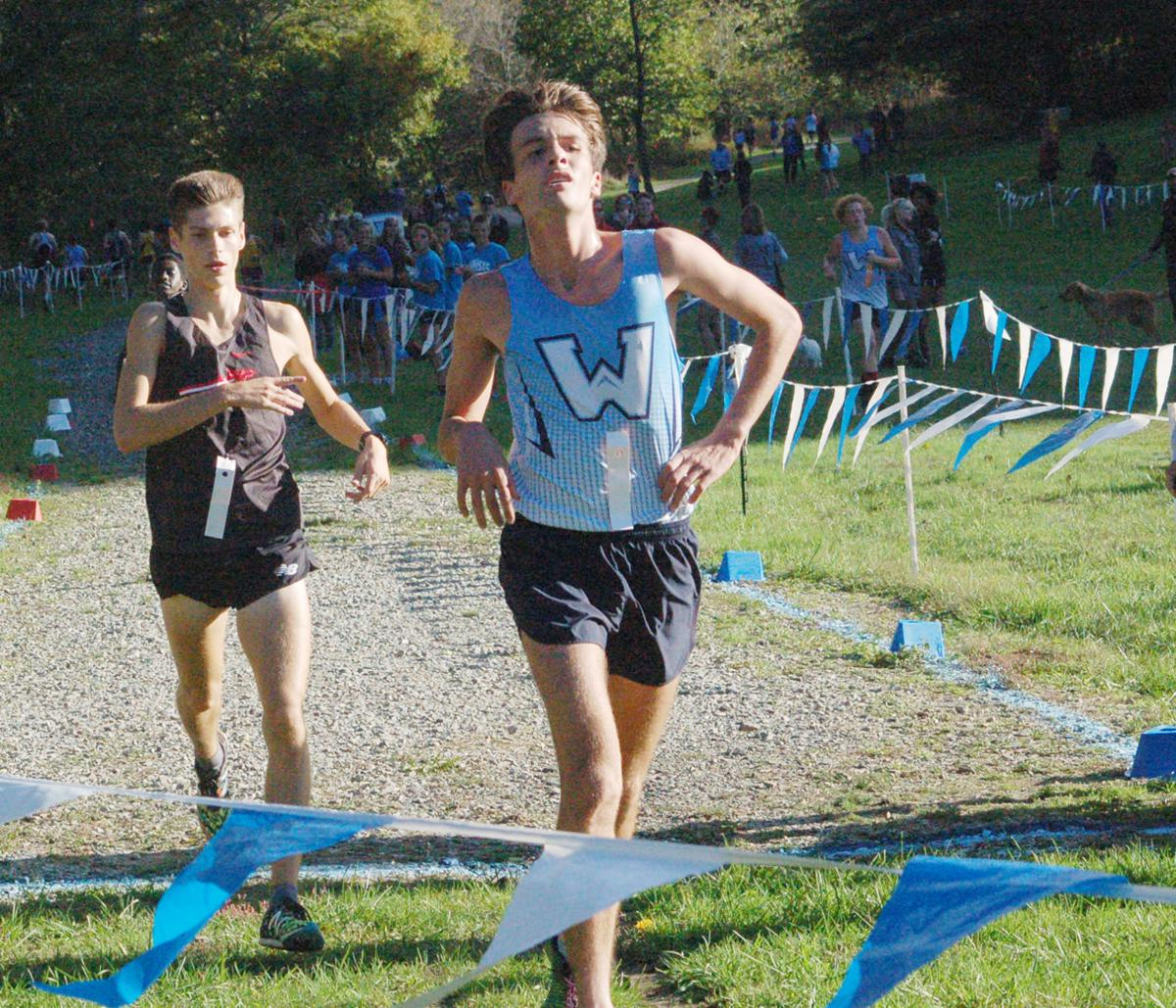 Cannon leads the WHS boys' cross-country team