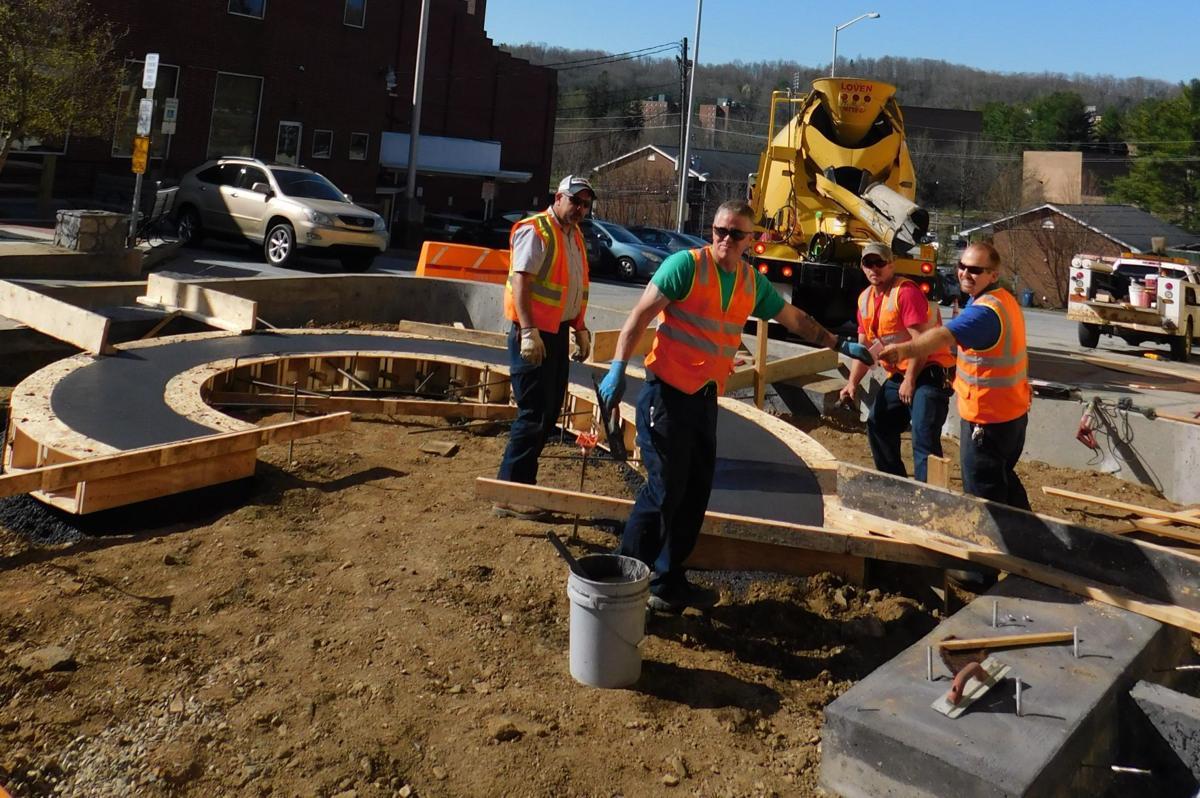 Watauga County Veterans Memorial construction begins