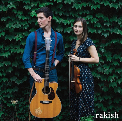 Rakish, made up of Connor Hearn and Boone native Maura Shawn Scanlin, will perform at the Harvest House in Boone on Aug. 10.